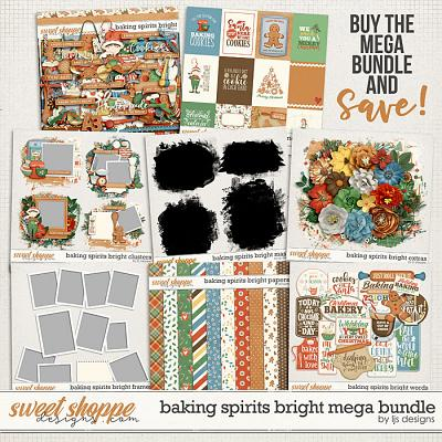 Baking Spirits Bright Mega Bundle by LJS Designs