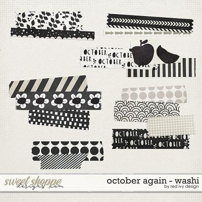 October Again - Washi Tape by Red Ivy Design