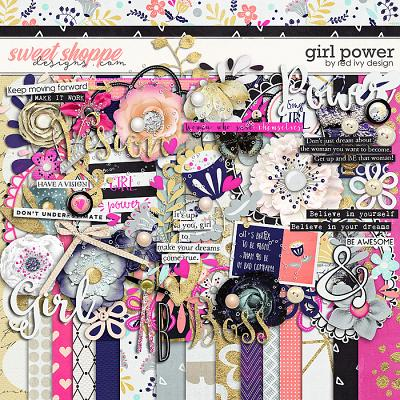 Girl Power by Red Ivy Design