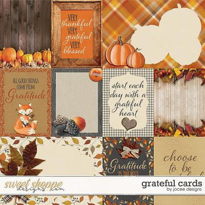 Grateful Cards by JoCee Designs