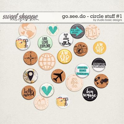 Go.See.Do Circle Stuff #1 by Studio Basic