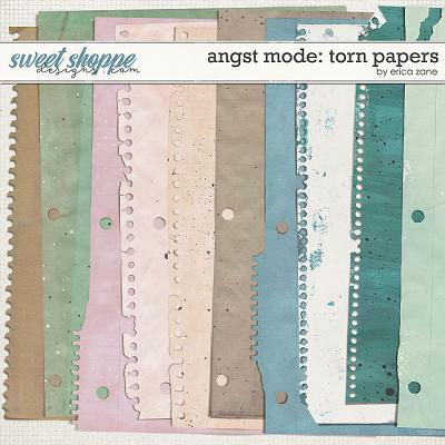 Angst Mode: Torn Papers by Erica Zane