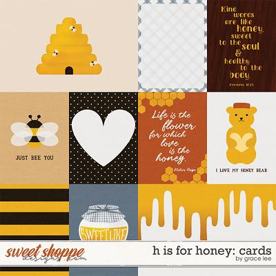 H Is For Honey: Cards by Grace Lee