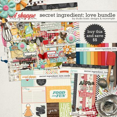Secret Ingrediente: Love Bundle by Studio Basic and Mommyish