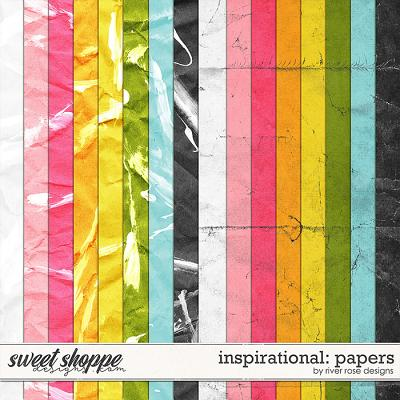 Inspirational: Papers by River Rose Designs