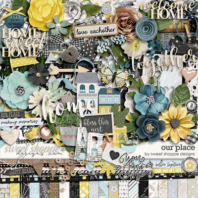 *FREE with your $20 Purchase* Our Place by Sweet Shoppe Designs