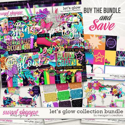 Let's Glow Collection Bundle by Meagan's Creations