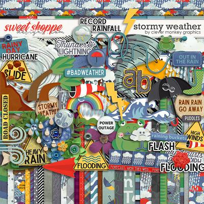 Stormy Weather by Clever Monkey Graphics