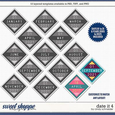 Cindy's Layered Templates - Date It 4 by Cindy Schneider