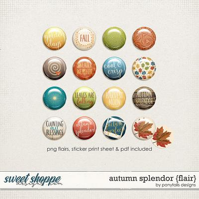 Autumn Splendor Flair by Ponytails