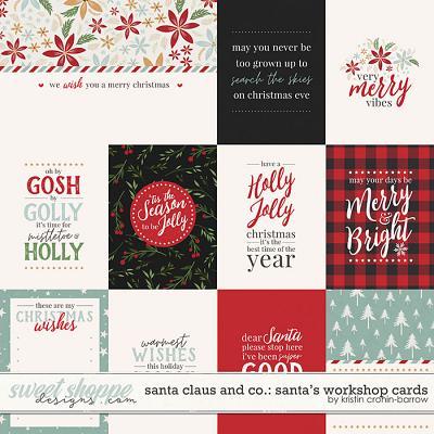 Santa Claus and Co: Santa's Workshop Cards by Kristin Cronin-Barrow