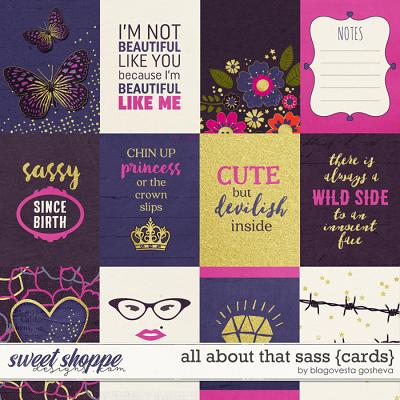All About That Sass {Cards} by Blagovesta Gosheva