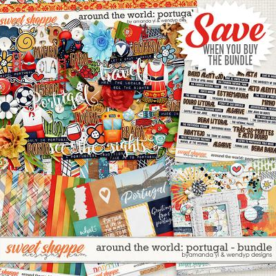 Around the world: Portugal bundle by Amanda Yi & WendyP Designs