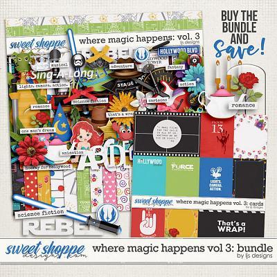 Where Magic Happens Vol. 3: Bundle by LJS Designs