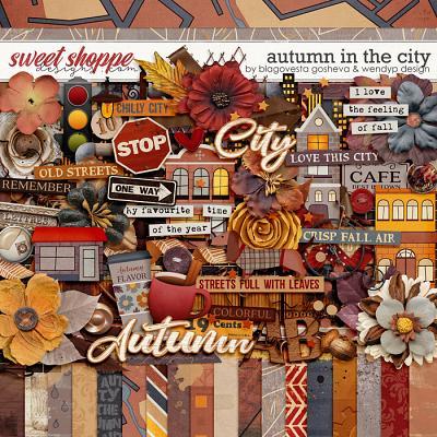 Autumn in the city by Blagovesta Gosheva & WendyP Designs