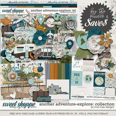Another Adventure - Explore: Collection + FWP by River Rose Designs