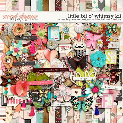 Little Bit O' Whimsy Kit by Simple Pleasure Designs and Studio Basic