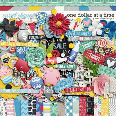 One dollar at a time by WendyP Designs