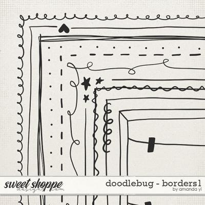Doodlebug: Borders 1 by Amanda Yi