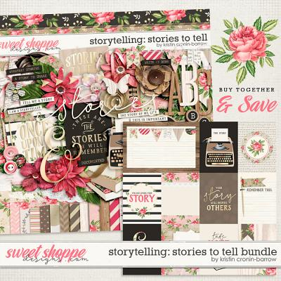 Storytelling: Stories to Tell bundle by Kristin Cronin-Barrow