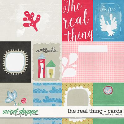 The Real Thing - Cards by Red Ivy Design