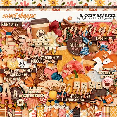 A Cozy Autumn by Digital Scrapbook Ingredients