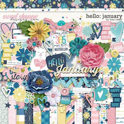 Hello: January by Traci Reed