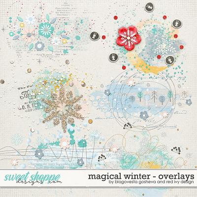 Magical Winter {Overlays} by Blagovesta Gosheva & Red Ivy Designs