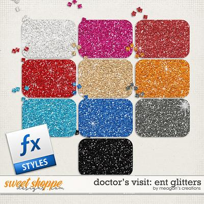 Doctor's Visit: ENT Glitters by Meagan's Creations