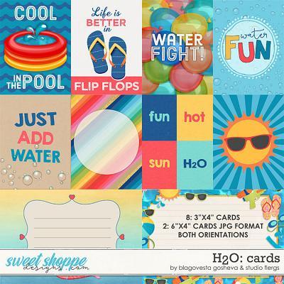 H2O {Cards} by Blagovesta Gosheva & Studio Flergs