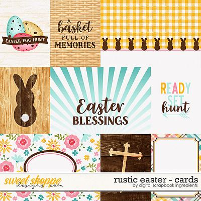 Rustic Easter | Cards by Digital Scrapbook Ingredients
