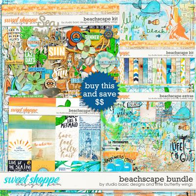 Beachscape Bundle by Studio Basic Little Butterfly Wings