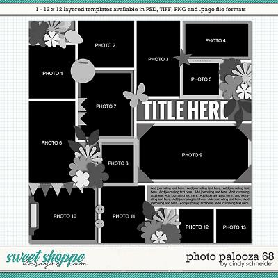 Cindy's Layered Templates - Photo Palooza 68 by Cindy Schneider