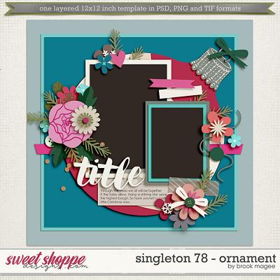 Brook's Templates - Singleton 78 - Ornament by Brook Magee