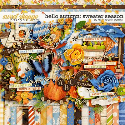 Hello Autumn: Sweater Season by Kristin Cronin-Barrow