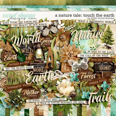 A Nature Tale: Touch the Earth by Kristin Cronin-Barrow