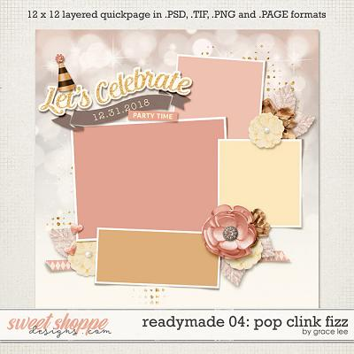 Readymade Template 04: Pop Fizz Clink by Grace Lee