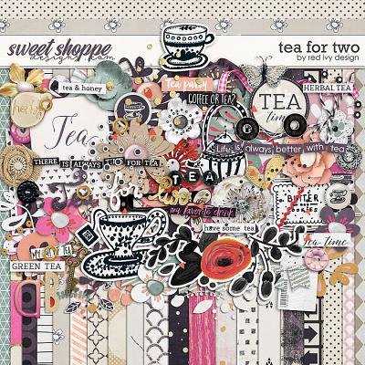 Tea For Two by Red Ivy Design
