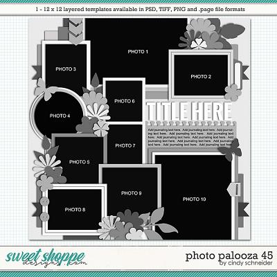 Cindy's Layered Templates - Photo Palooza 45 by Cindy Schneider