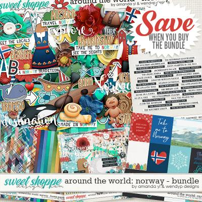 Around the world: Norway - Bundle by Amanda Yi & WendyP Designs