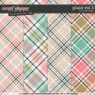 Plaid VOL 3 by Studio Flergs