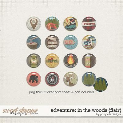 Adventure: In the Woods Flair by Ponytails