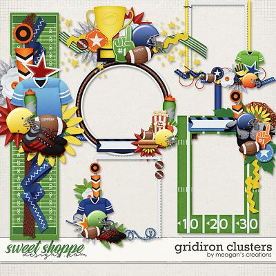 Gridiron: Clusters by Meagan's Creations