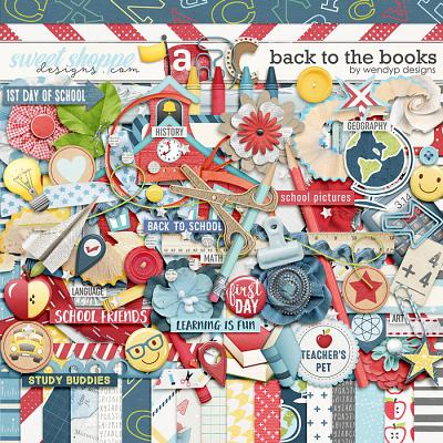 Back to the books by WendyP Designs