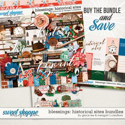 Blessings: Historical Sites Bundle by Grace Lee and Meagan's Creations