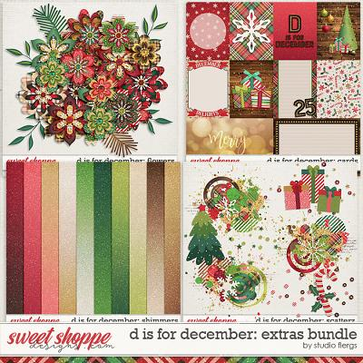 D is for December: EXTRAS BUNDLE by Studio Flergs