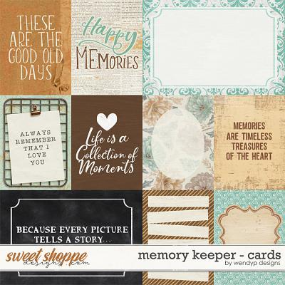 Memory Keeper - Cards by WendyP Designs