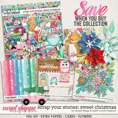 Scrap Your Stories: Sweet Christmas- COLLECTION by Studio Flergs & Kristin Cronin-Barrow