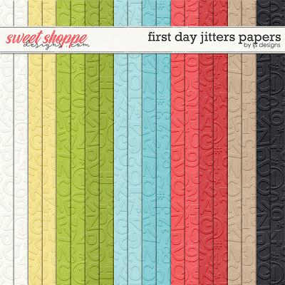 First Day Jitters Papers by LJS Designs