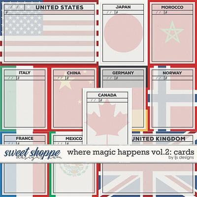 Where Magic Happens Vol. 2: Cards by LJS Designs